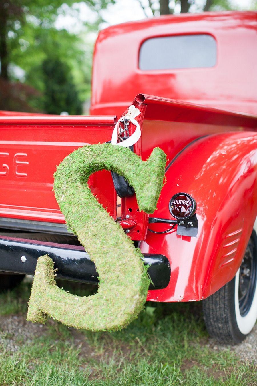 """""""S"""" - Moss letter - Crossed Keys Inn Wedding from Bia Sampaio Photography"""