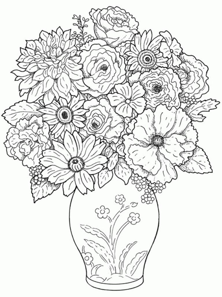 Beautiful drawings of flower vase vase pinterest beautiful beautiful drawings of flower vase reviewsmspy