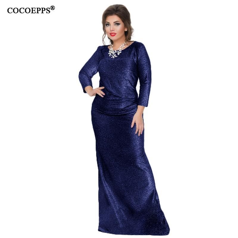 Long Evening Mermaid Style Sheath Dress, Great For Formal ...