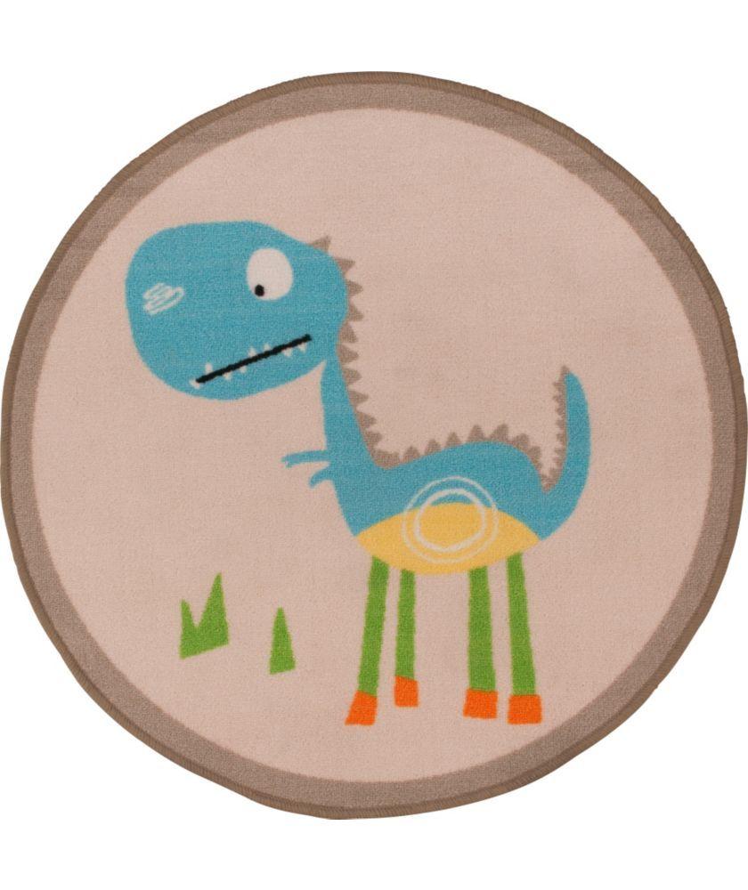 Buy Chad Valley Dinosaur Kids Rug Diameter Neutral At