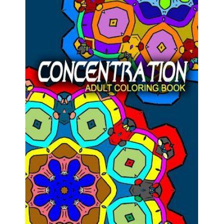 Concentration Adult Coloring Books
