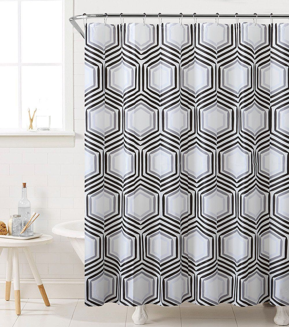 Royal Bath Honeycomb Highway PEVA Non Toxic Shower Curtain