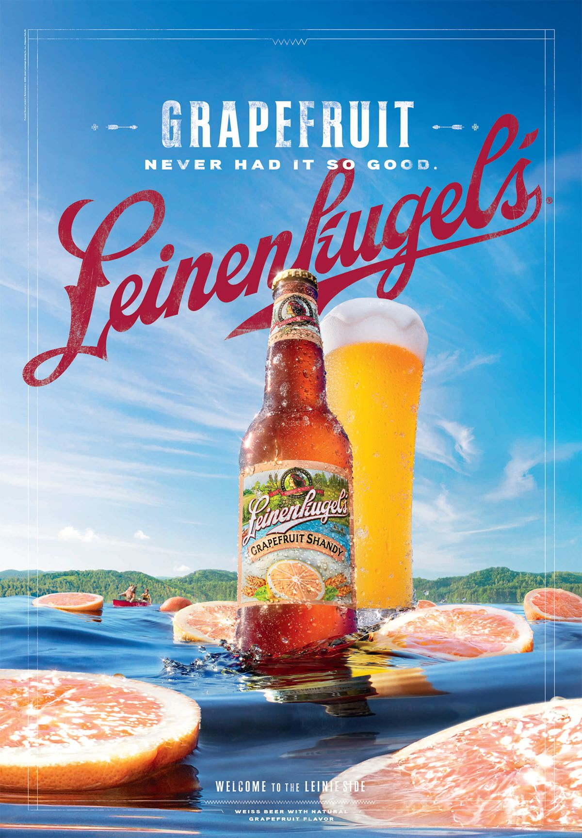 Leinenkugel's on Behance | Beer poster design, Creative ...