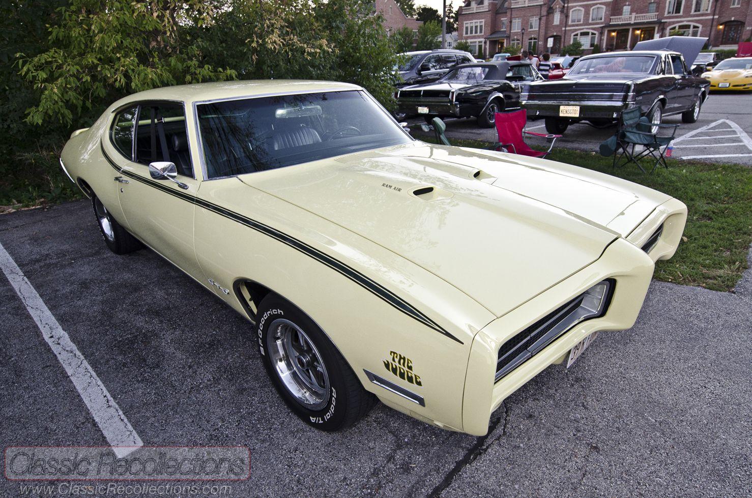 On The Road 1969 Pontiac Gto Judge Year I Was Born 1960s