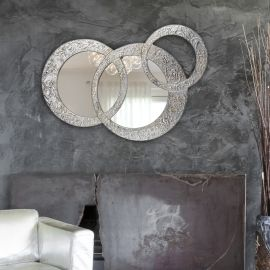 Miroir Décoratif Mural Petit Design Italien Circles Piccola