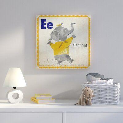 Harriet Bee 'Elephant' Canvas Art | Wayfair #elephantitems