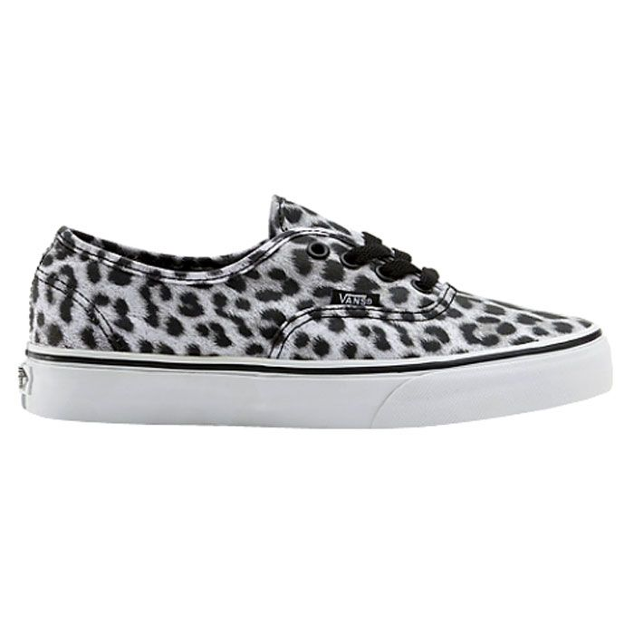 VANS AUTHENTIC leopard black white VANS | Chaussure basket