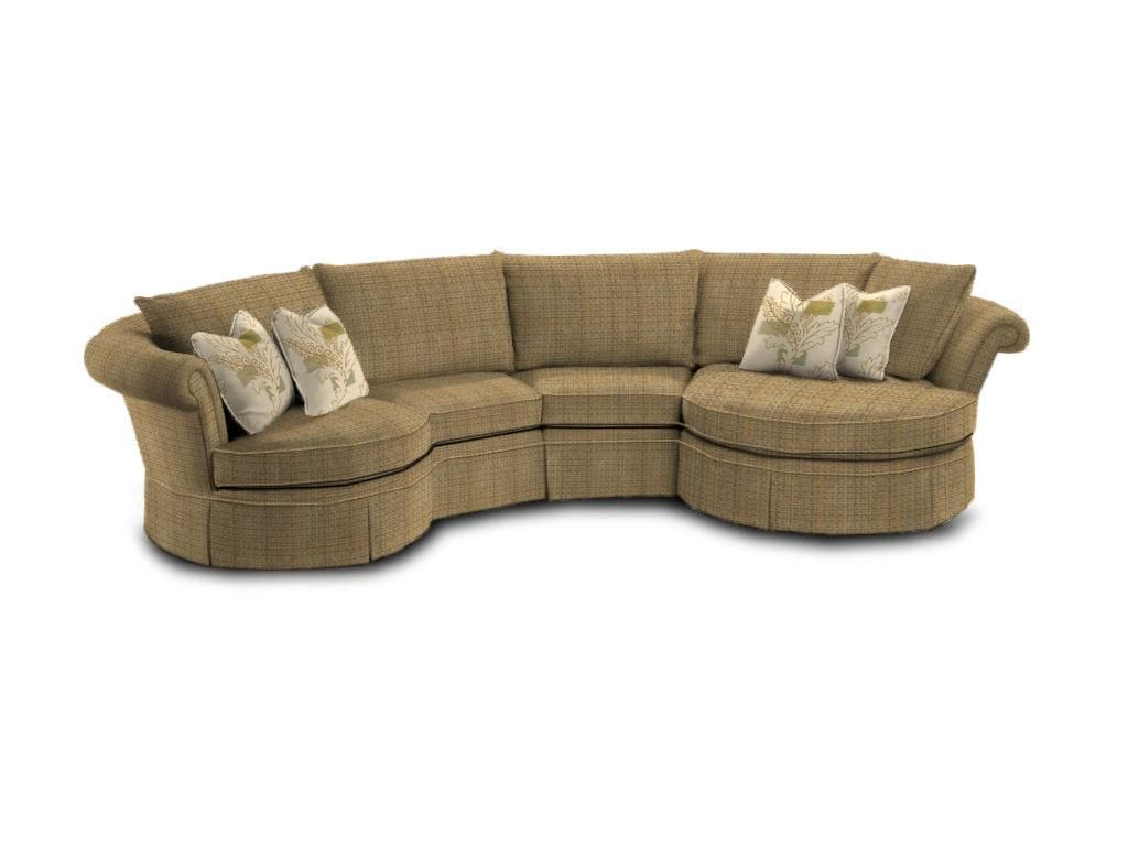 Curved Sofa Small Sectional