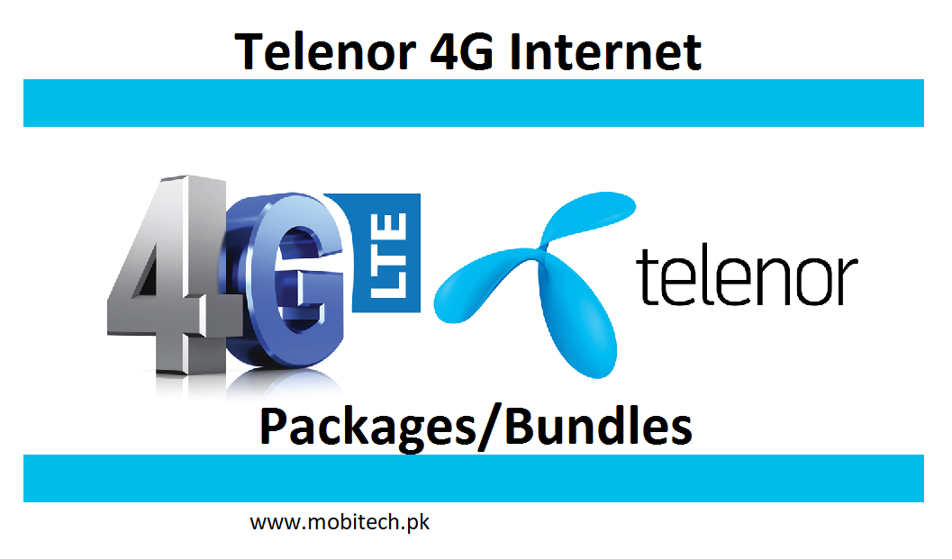 Latest Telenor Internet Packages Internet Packages 4g Internet 3g Internet