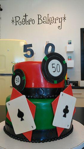Bold gambling cake by Retro Bakery Las Vegas Vegas Cakes