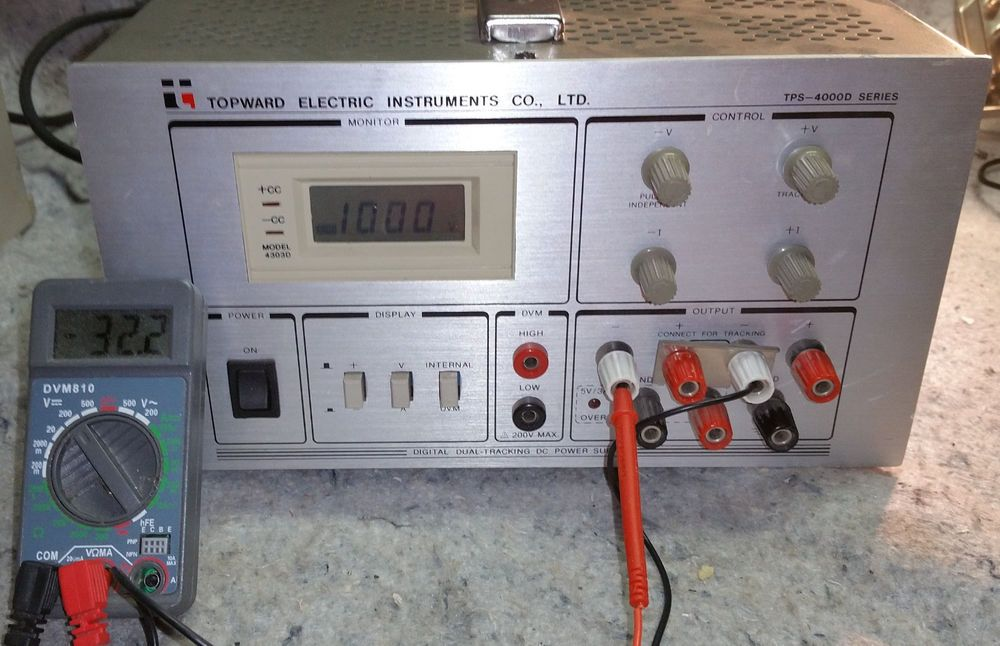 Topward Electric Instruments Co Tps 4000d Digital Dual Tracking Dc Power Supply Power Supply Electricity Digital