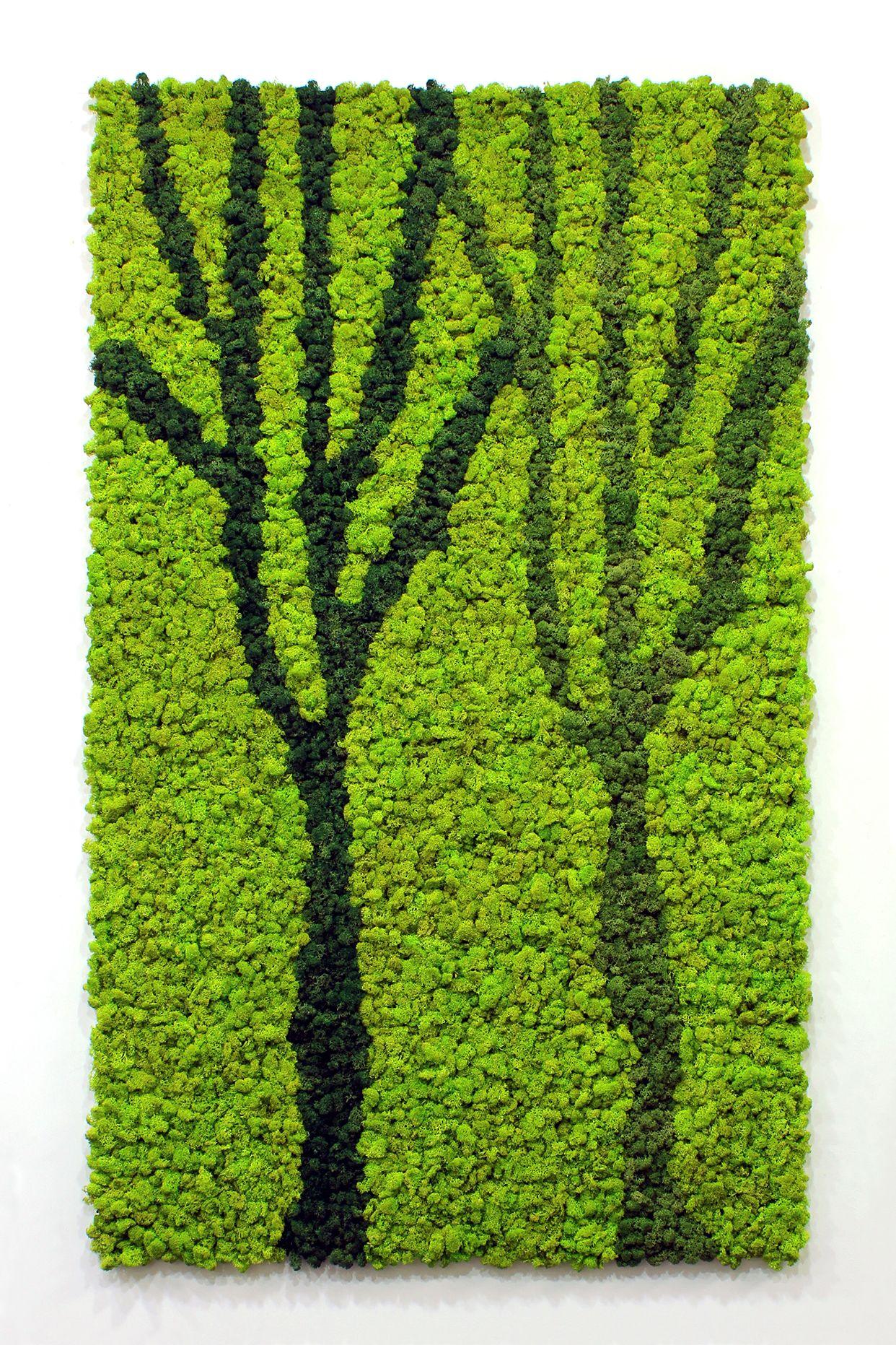 Scandia Moss Custom Art - Each art piece was created by combining ...