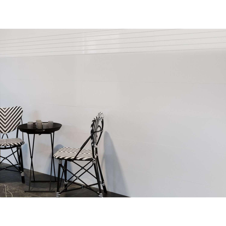 Weiße Wandfliesen in matt | 30x90 | günstig kaufen | Wandfliesen ...