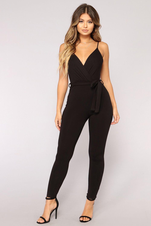 1c51d3b22bbe Lizbeth Jumpsuit - Black en 2019 | Cosas para comprar | Ropa de moda ...