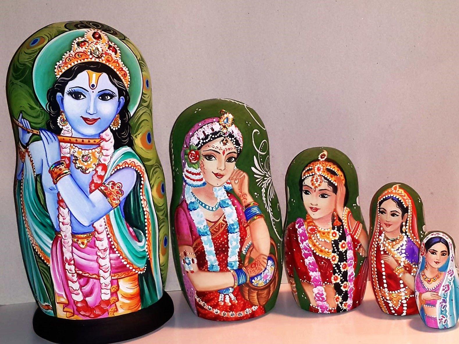 индийская матрешка фото боги сжалились превратили