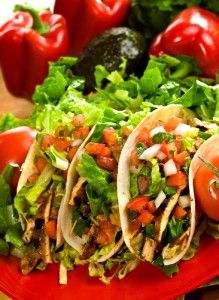Fridge Raider Chicken Tacos Recipe (from Daphne Oz on The Chew)