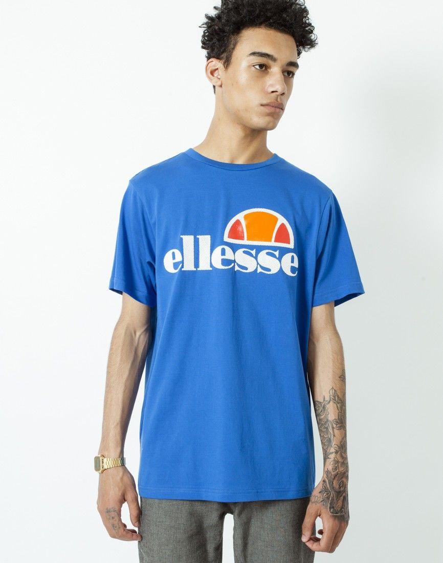 Ellesse t shirt white womens - Ellesse T Shirt With Classic Logo Shop Men S Clothing At The Idle Man