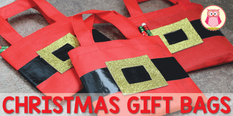 Christmas Gift Bags for Kids: Santa Bags | Simple gifts, Simple ...