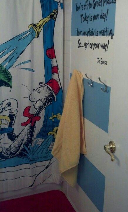 My Diy Dr Seuss Bathroom Vinyl Wall