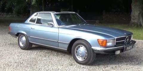 A 1971 Mercedes 350SL Is an Elegant Classic With No Old-Car Drawbacks