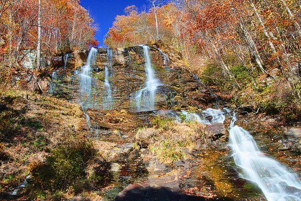 Fall In Blue Ridge Hiking Blue Ridge Georgia Blue