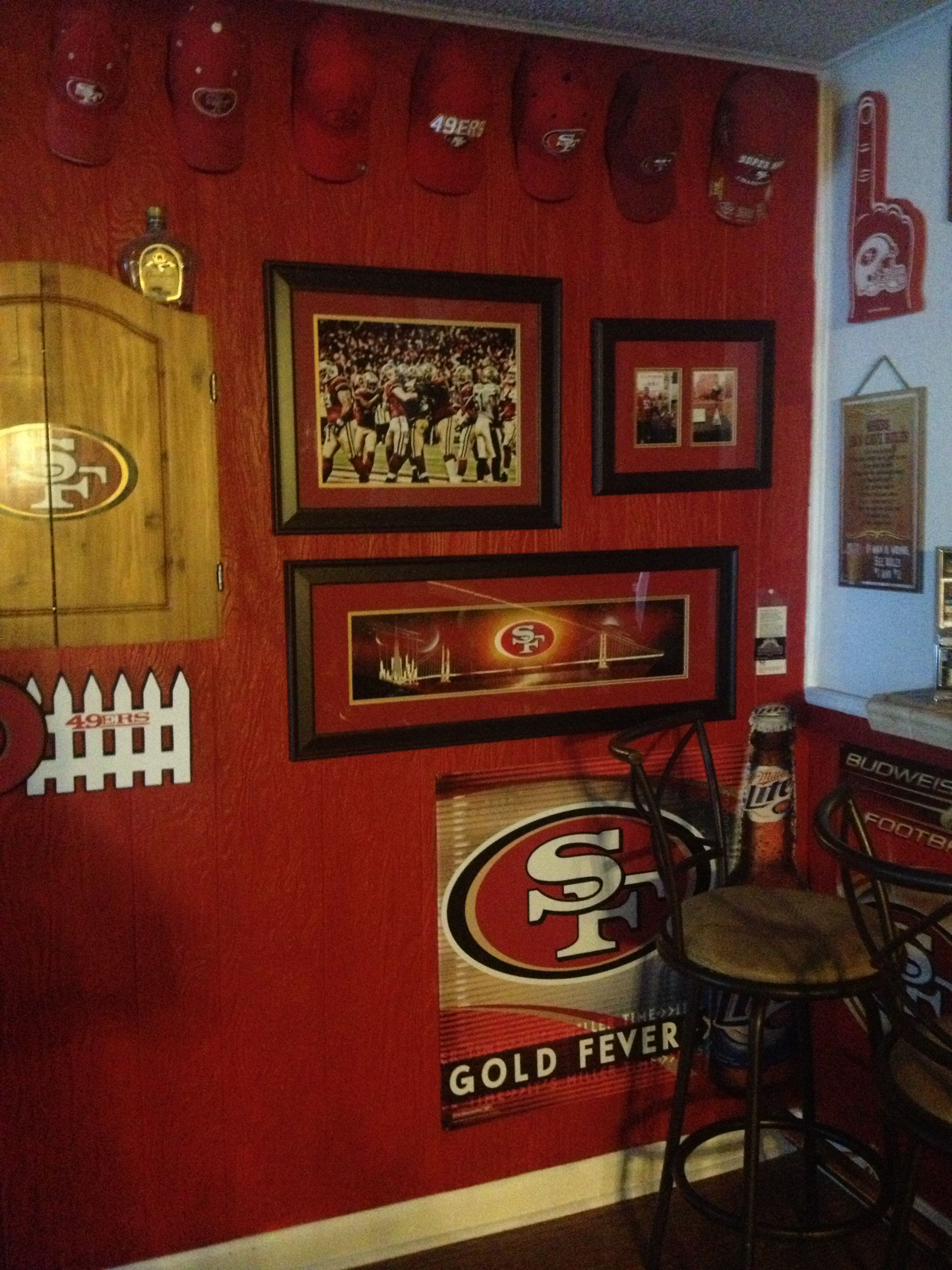 49ers room 49ers pinterest 49ers room and san. Black Bedroom Furniture Sets. Home Design Ideas
