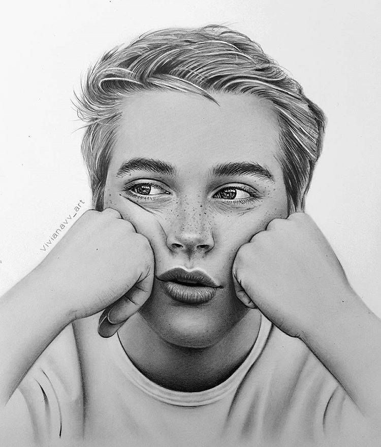 Pin By Dilma On Art Dark Art Drawings Cute Boy Drawing Realistic Pencil Drawings