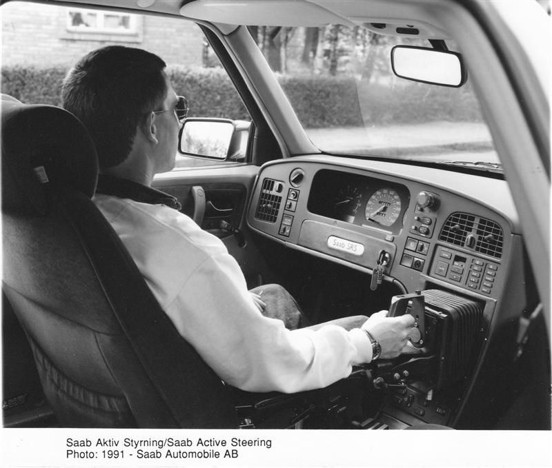 Cars Joystick Controlled Saab