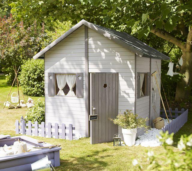 cabane au bout du jardin by castorama via flickr. Black Bedroom Furniture Sets. Home Design Ideas