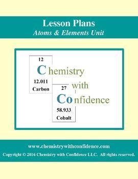 Atoms amp elements unit lesson plans for level chemistry students atoms amp elements unit lesson plans for level chemistry students advanced chemistry students urtaz Image collections
