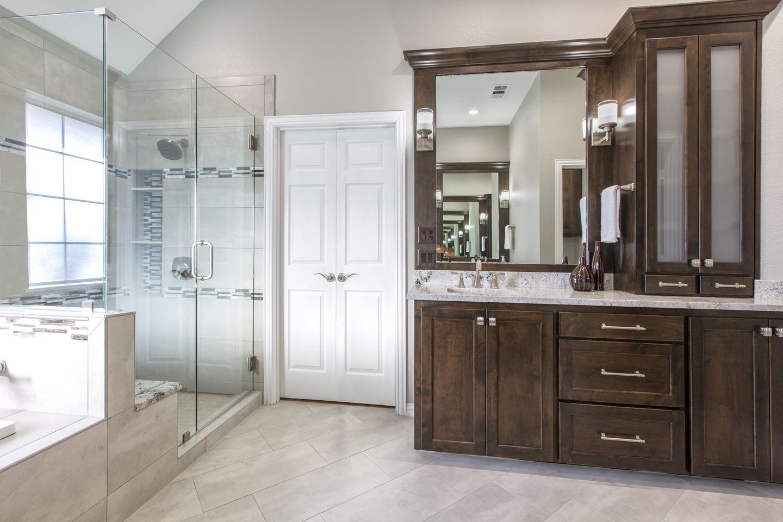 Gorgeous Master Bathroom Remodel By Medford Design Build