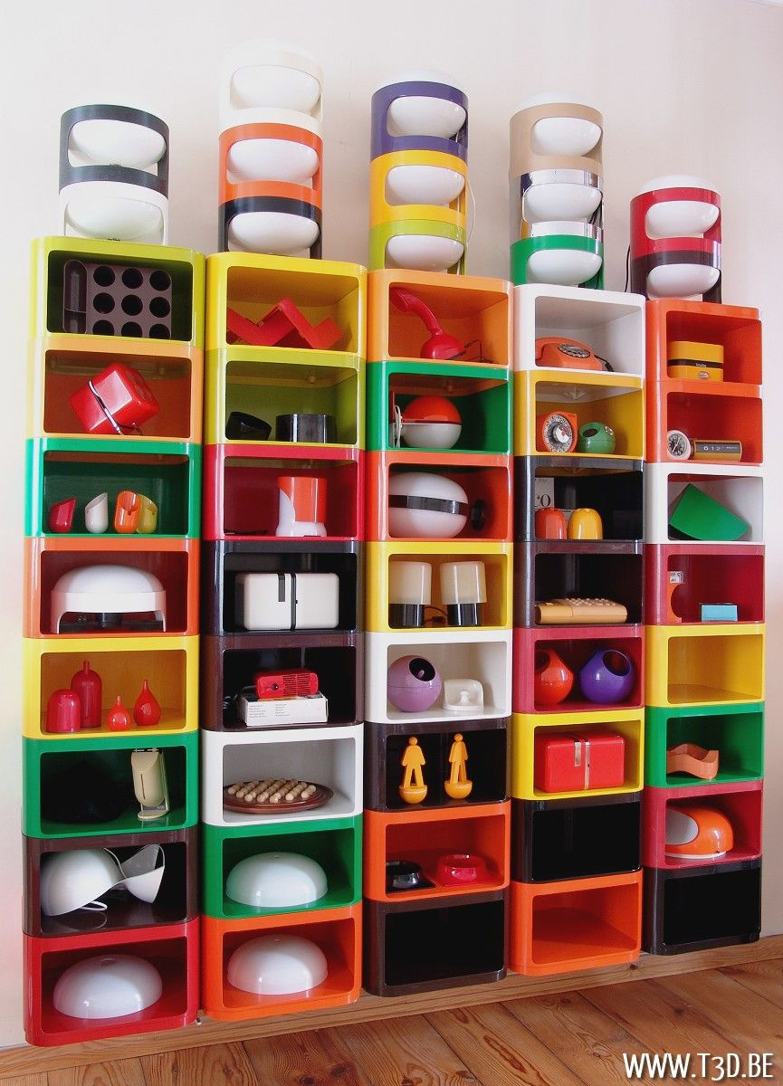 Space Age Furniture Amazing Plastic Fantastic Wall With Vintage Space Age Design Icons