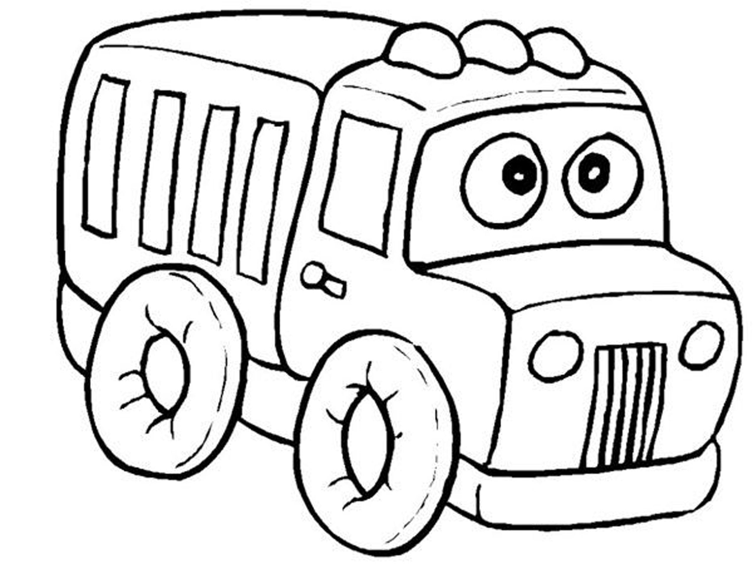 Little Kid Coloring Pages