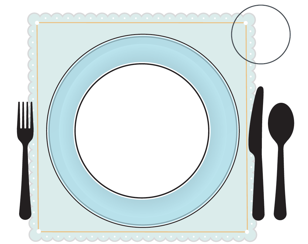 table settings template
