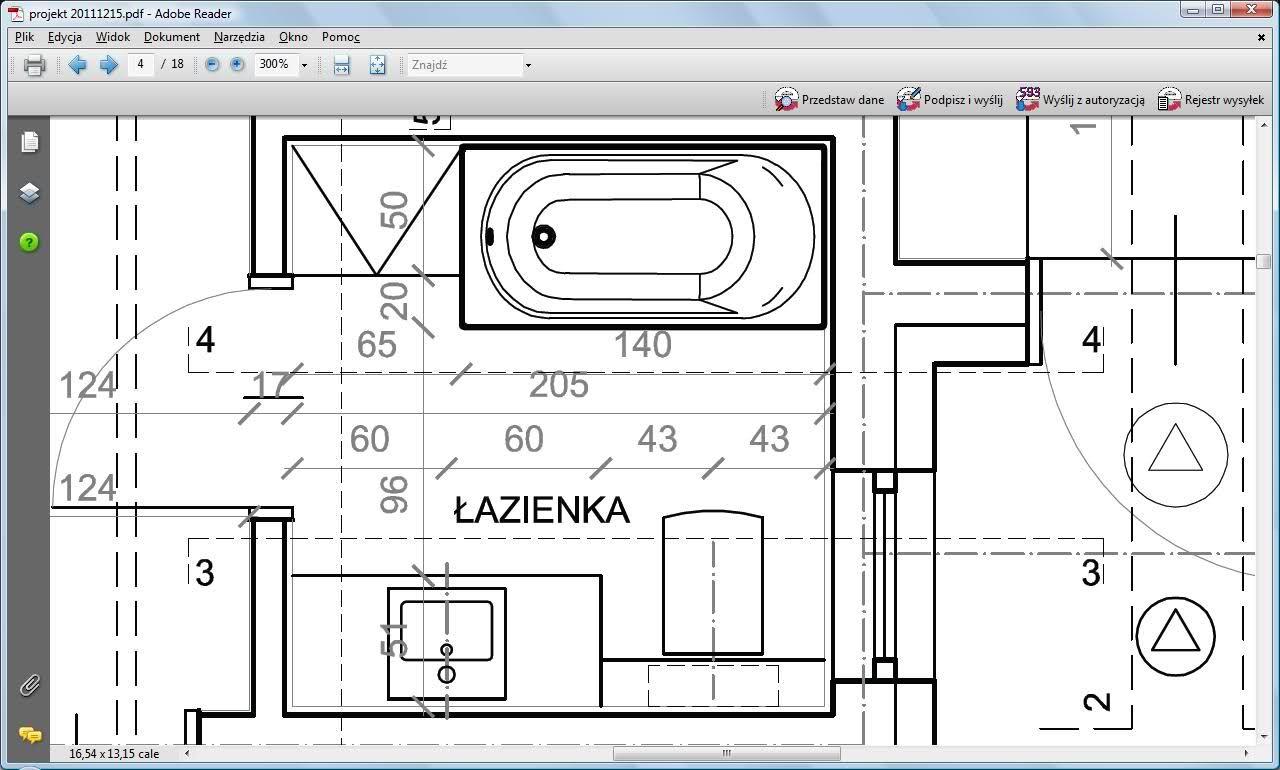 Rysunek Techniczny łazienki Szukaj W Google Różne