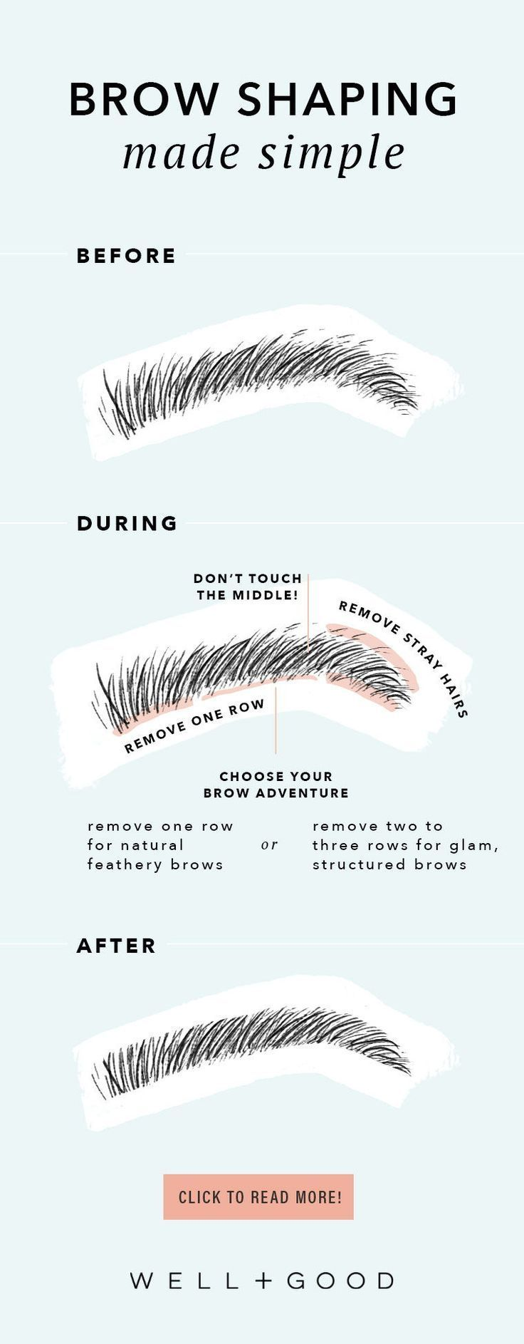 5 tricks for gorgeous eyebrows | Well+Good