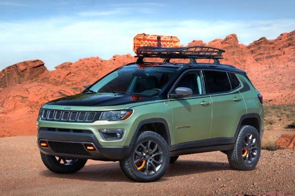 Jeep Reveals Grand Cherokee Wrangler Compass Concepts For 2017