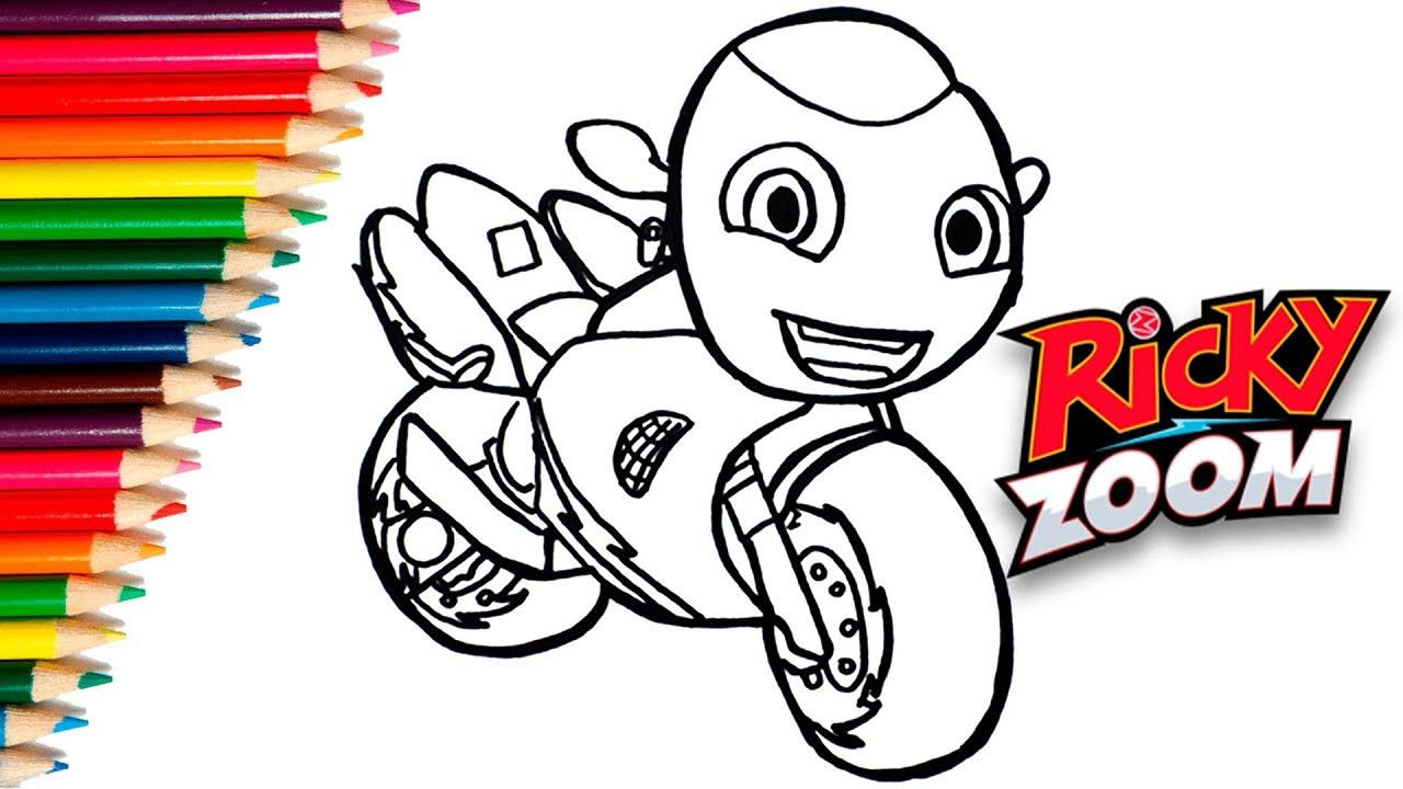 How To Draw Ricky Zoom Cartoon Como Dibujar Y Colorear A Ricky D Drawings Christmas Drawing Draw
