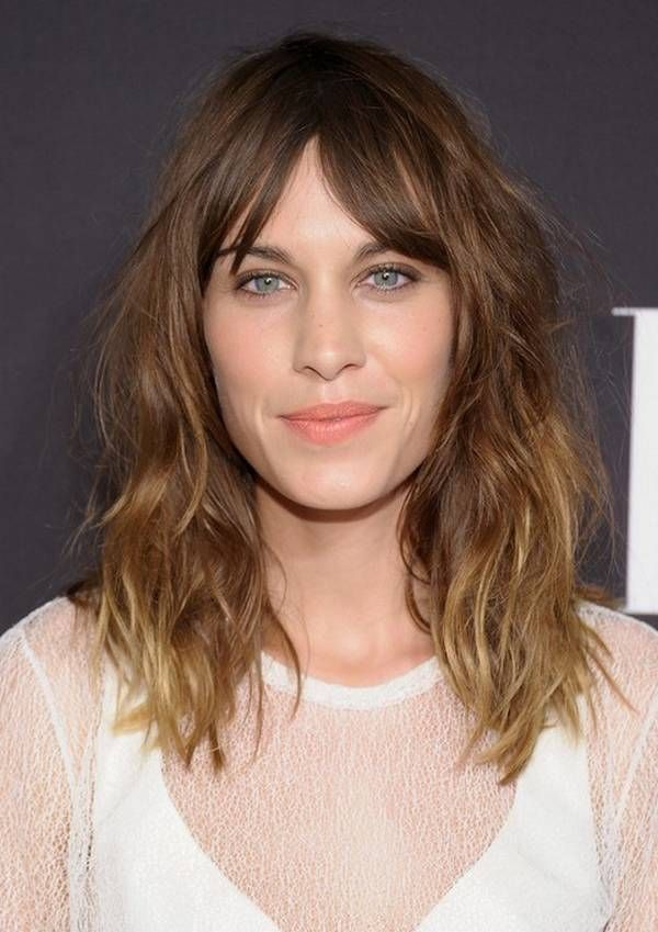 Alexa Chung Haircuts Medium Ombre Hairstyle My Style Pinterest