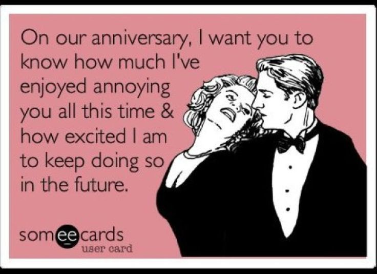 Wedding anniversary sayings funny