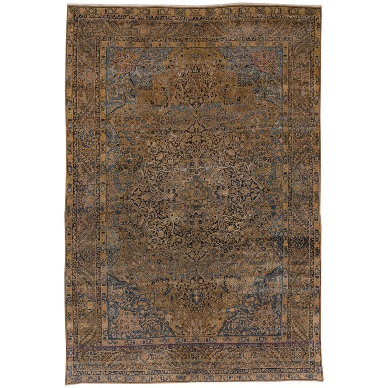 Antique Kerman Carpet Circa 1920s Rugs On Carpet Carpet Persian Carpet