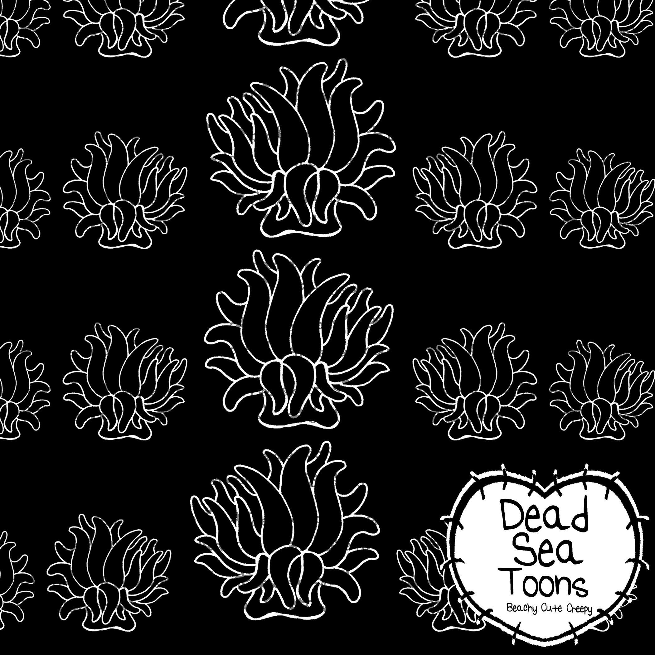 Instant Download Printable Paper Dst Sea Anemone Paper
