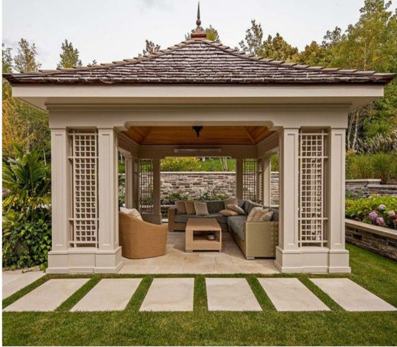 Heart Touching Ideas Of Gazebo Roof Or Cover Pergola Gazebos Roofs Covers Backyard