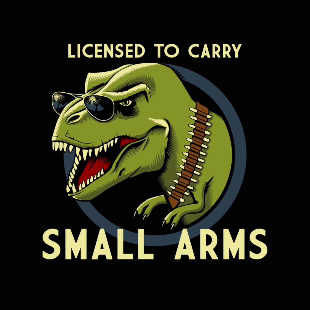 Licensed To Carry Small Arms Shirt