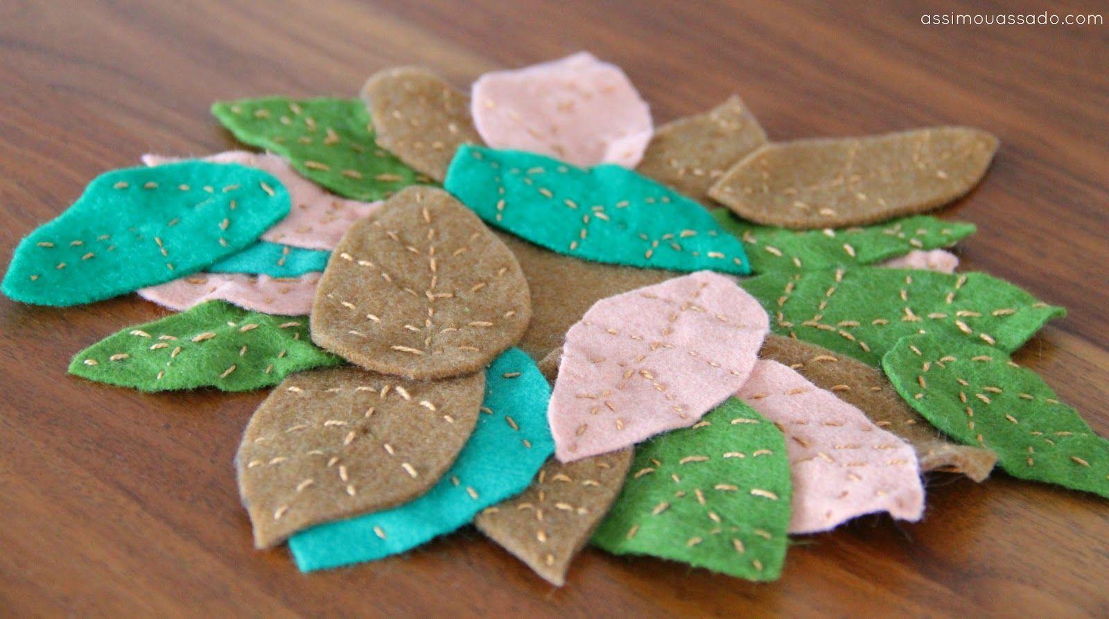 cute leaf coaster