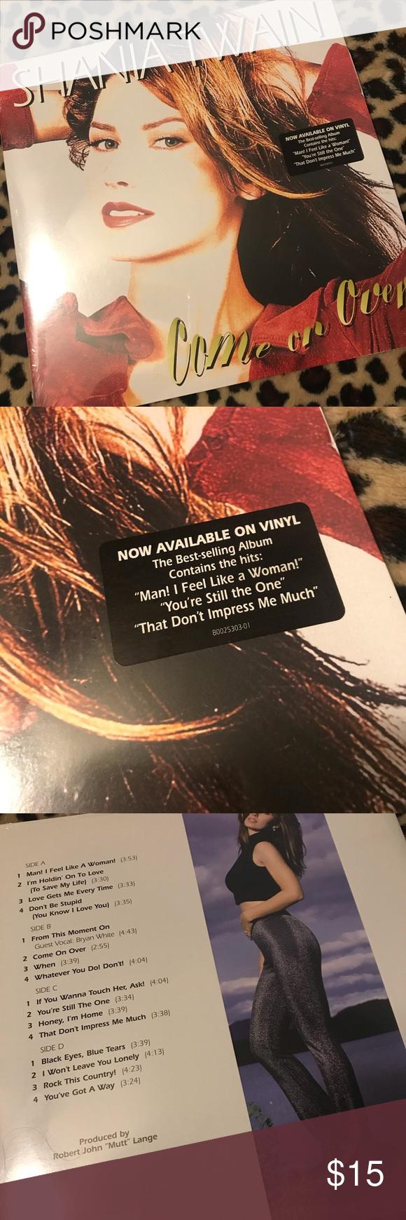 Shania Twain Vinyl Album 33 Lp Record Shania Twain Album Vinyl