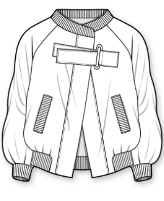 Bomber Jacket Wgsn Google Search Drawing Clothes Technical Drawing Fashion Sketchbook