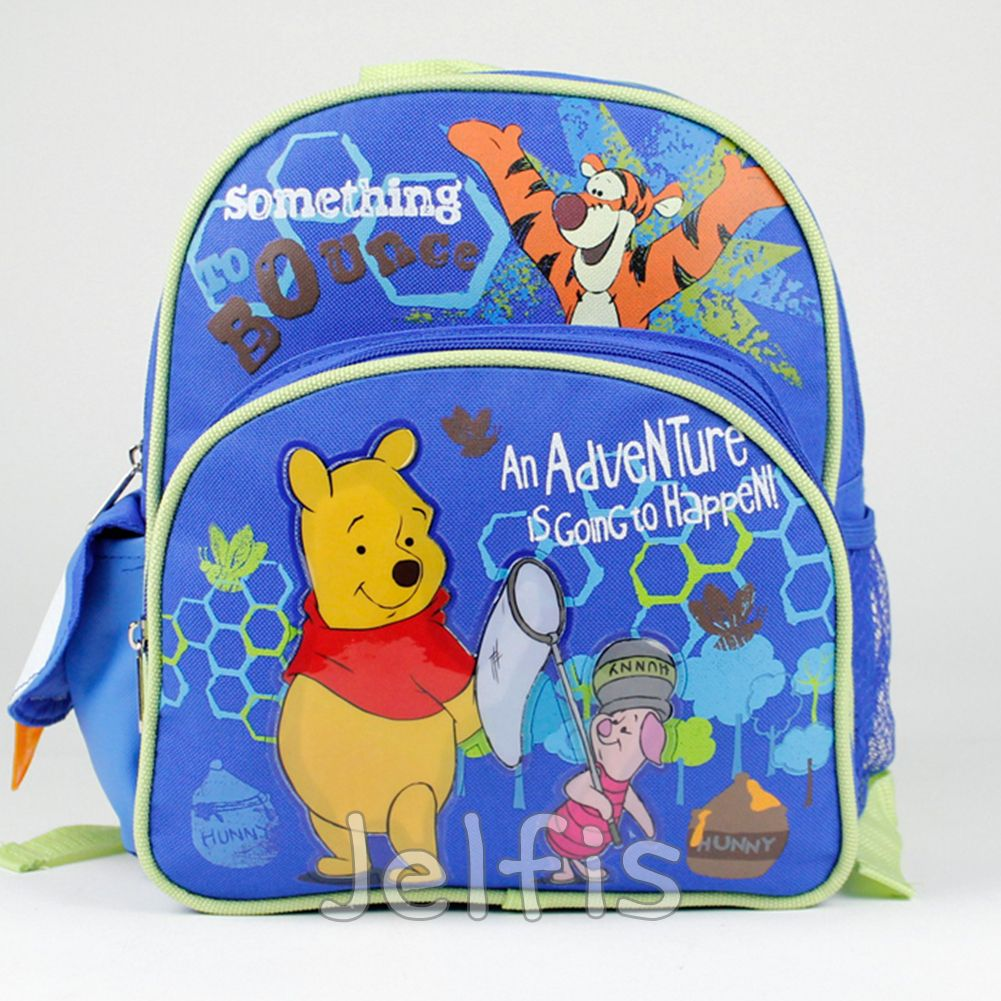 520c222dfce Jelfis.com - Winnie the Pooh Backpack - Adventure Tigger Pigglet 10  Mini  Toddler