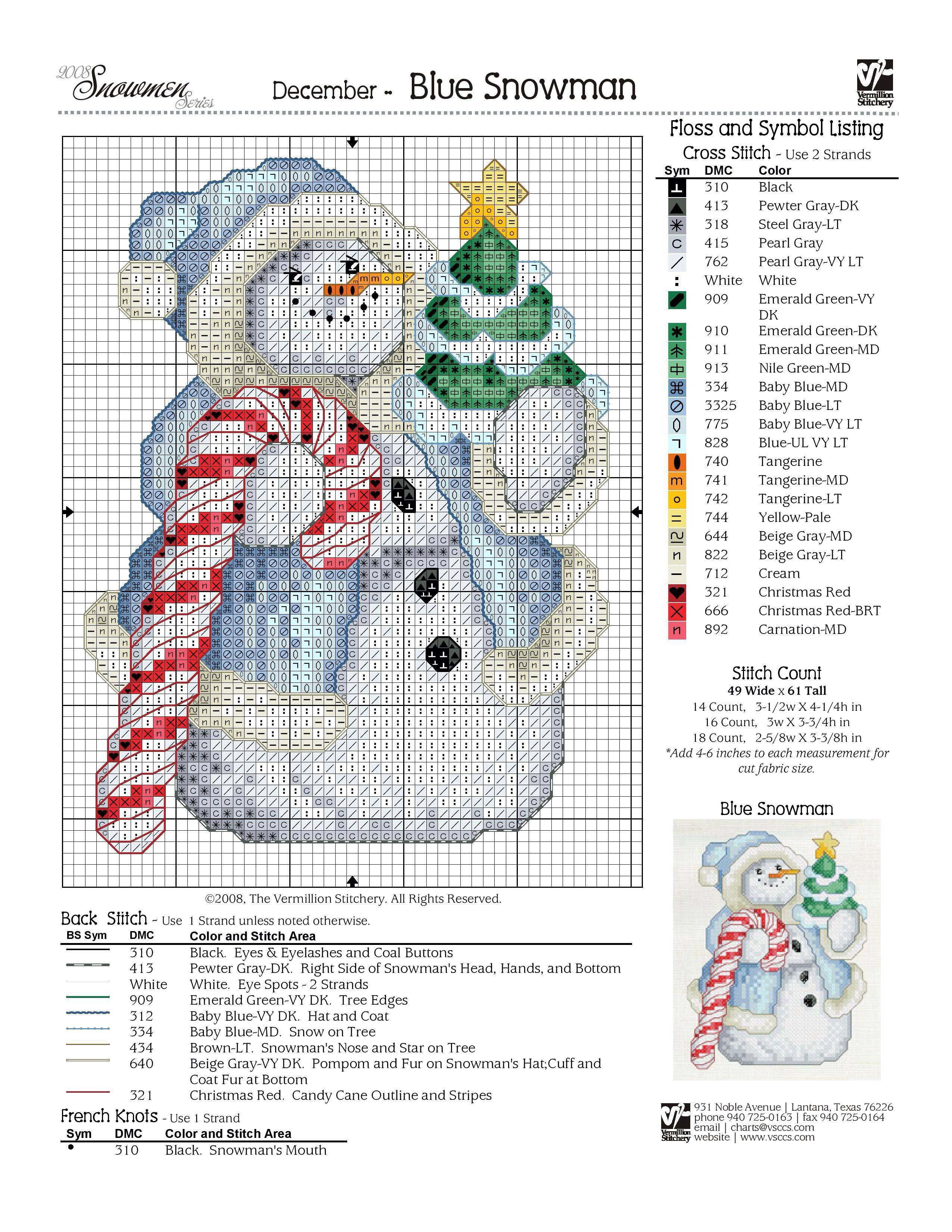 Snowman   punto de cruz   Pinterest   Punto de cruz, Puntos y Navidad