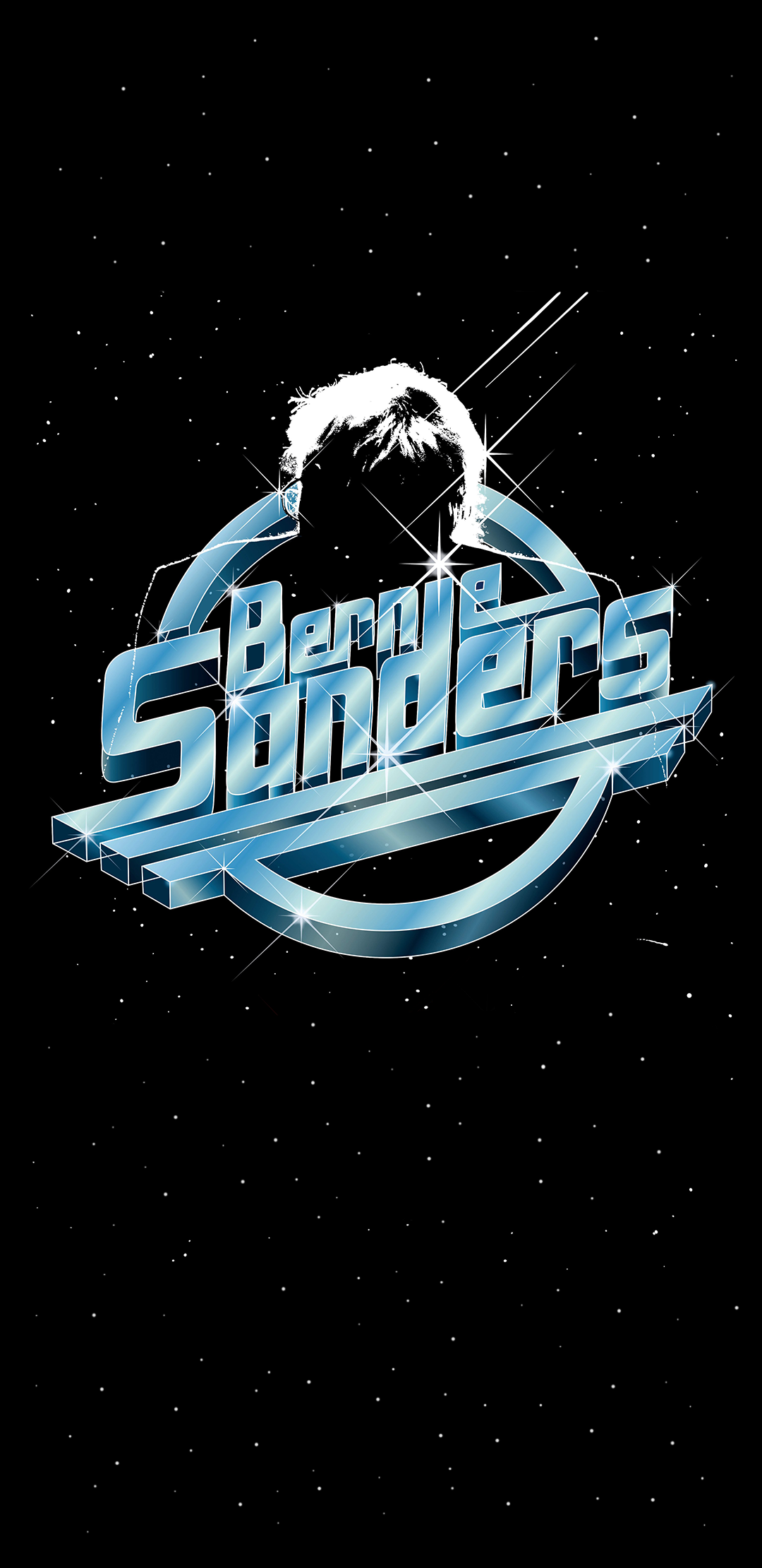 Starman Sanders Made From A Poster For An Event With Bernie And The Strokes S8 Wallpaper Photo Wall Collage The Strokes